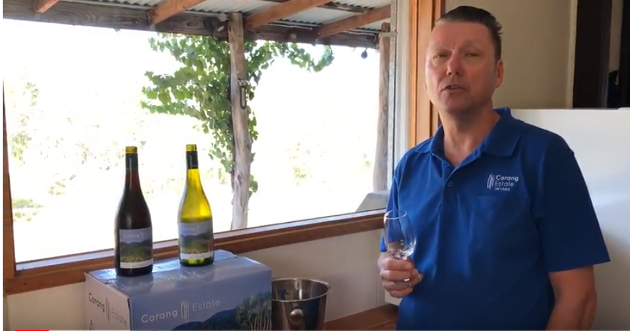 Corang Estate's first release wines