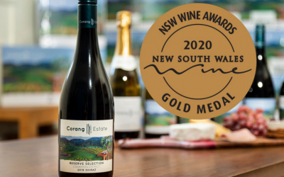 Corang Estate strikes gold at the 2020 NSW Wine Awards